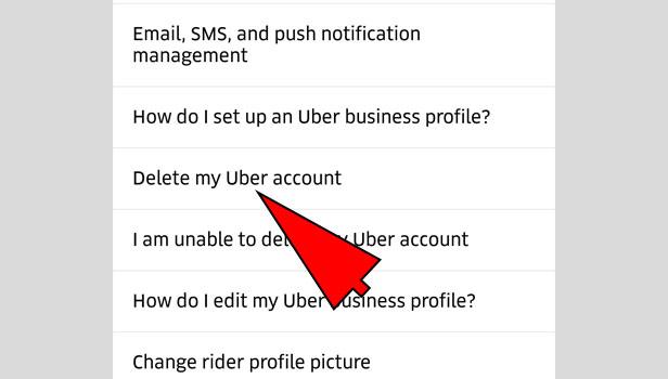 Quit Uber