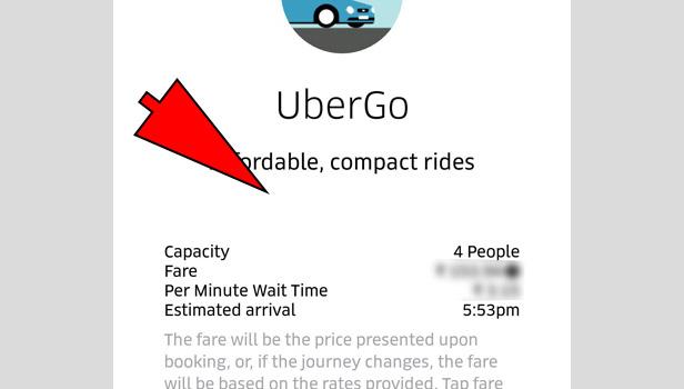 Get Uber Estimate