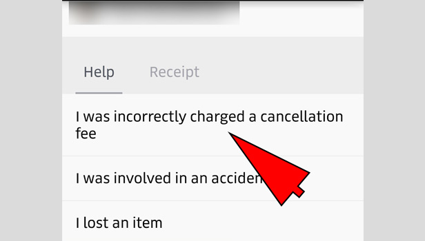 uber refund