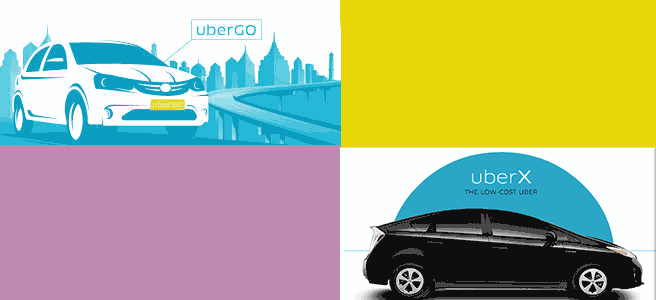 difference between ubergo and uberx