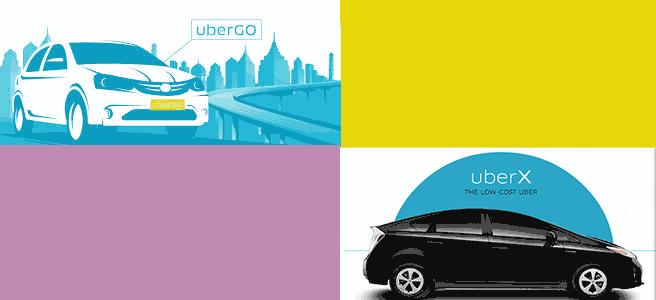 difference between ubergo and uberx