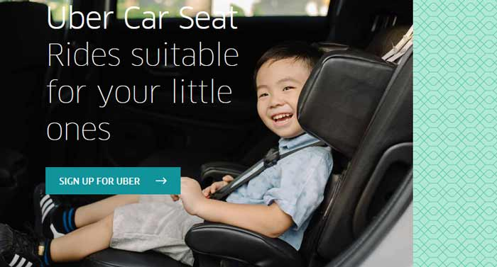 uber with car seat