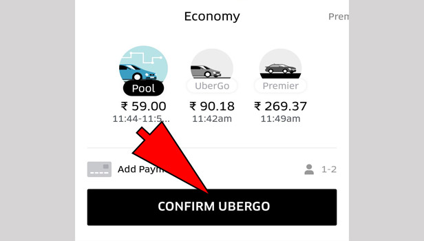 Pay Uber With Cash