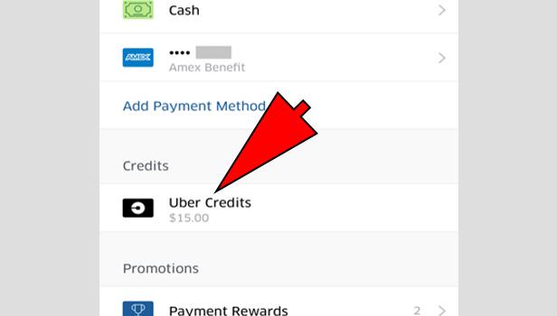 getUber credit