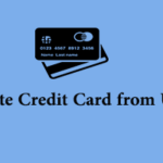 How to Delete Credit Card from Uber