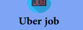 Uber job