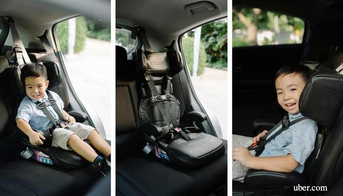 uber car seat