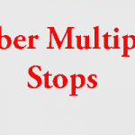 How to Request Uber Multiple Stops Cab
