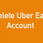 How to Delete UberEats Account