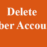 How to Delete Uber Account