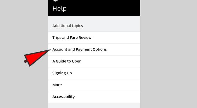 Delete Uber Account