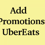 How to Apply Promotions in UberEats