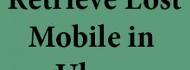 Retrieve Lost Mobile in Uber