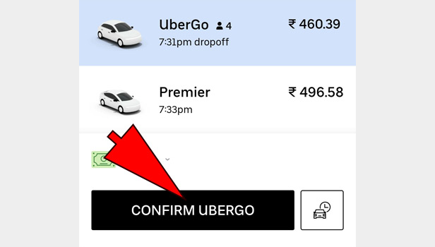 Uber Without Credit Card