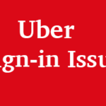 How to Solve the Uber Sign-in Issue