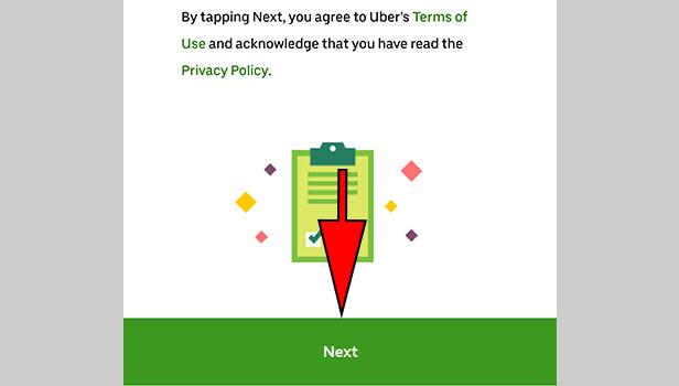 register Uber Eats