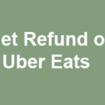 How to Get Refund on Uber Eats