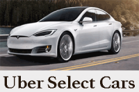 List of Luxurious Top Uber Select Cars