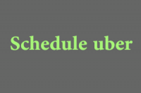 How to Schedule Uber